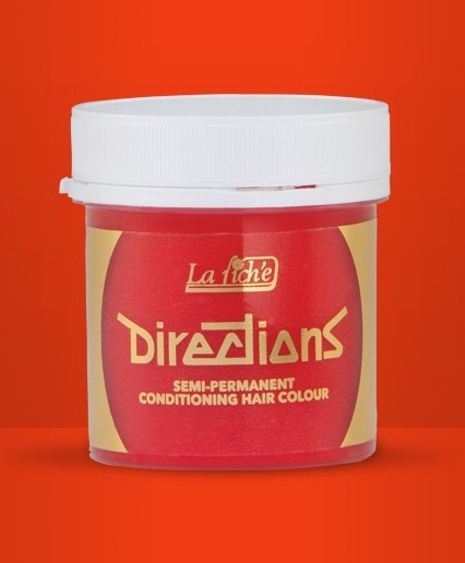 Directions Tangerine Hair Colour