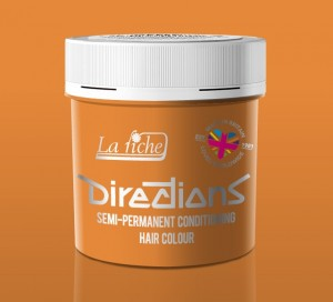 Directions Apricot Hair Colour