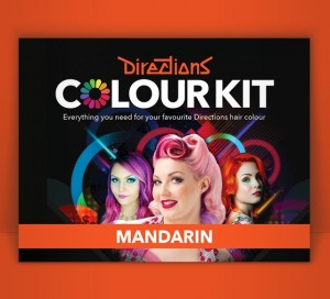 Directions Mandarin Hair Colour Kit