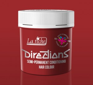 Directions Pillarbox Red Hair Colour